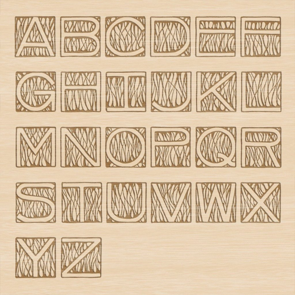 Monogram Deco Anniversary Wine Box - Detail Image 2