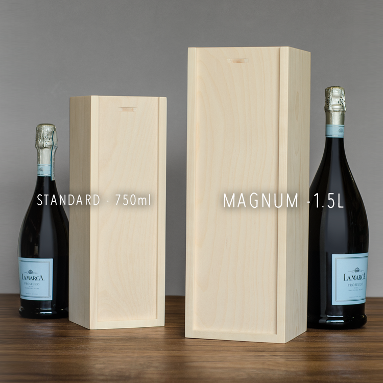 Magnum Custom 1-Bottle Wine Box