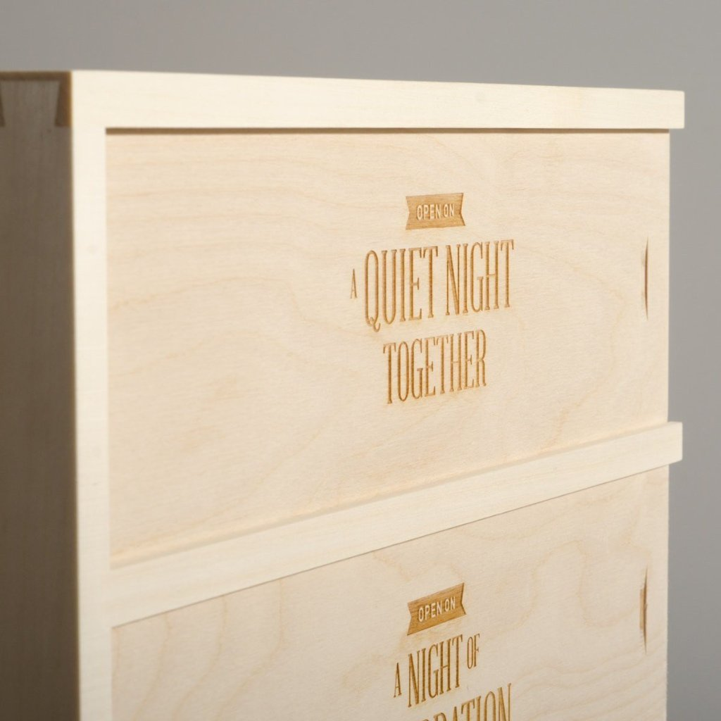 Three Nights Wedding Wine Box - Detail Image 2