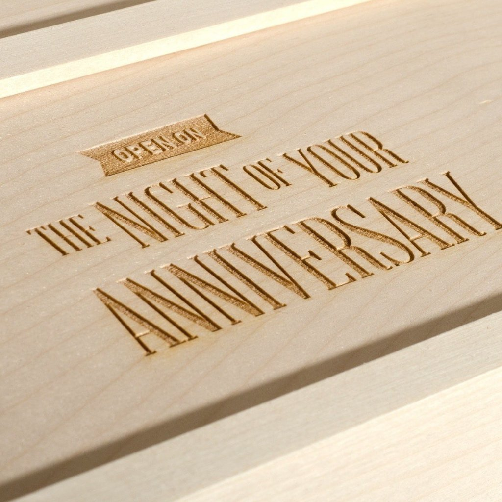 Three Nights Wedding Wine Box - Detail Image 3
