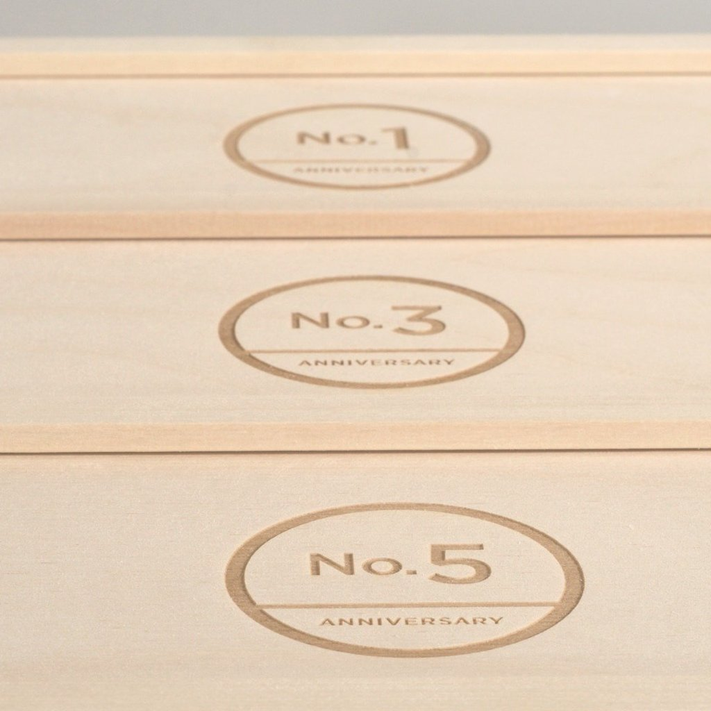 Trio Couture Anniversary Wine Box - Detail Image 2