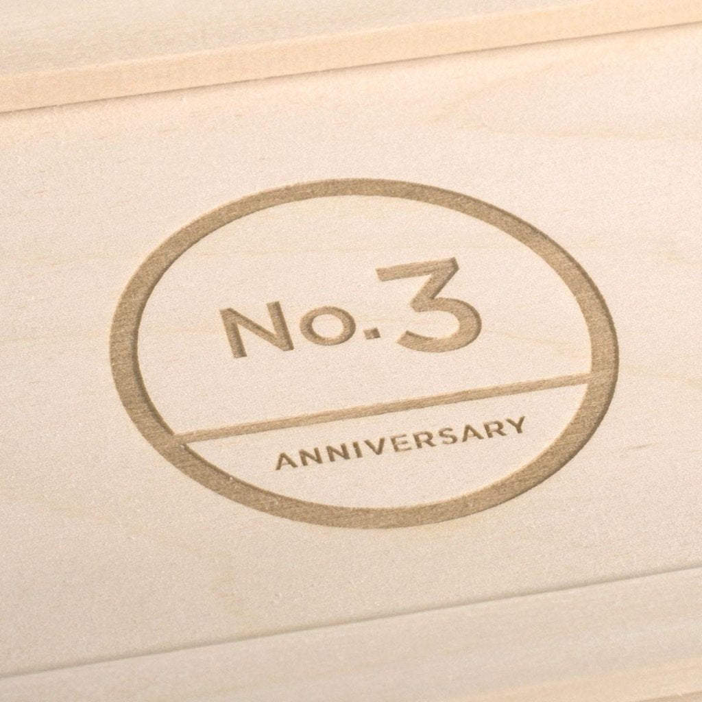 Trio Couture Anniversary Wine Box - Detail Image 1