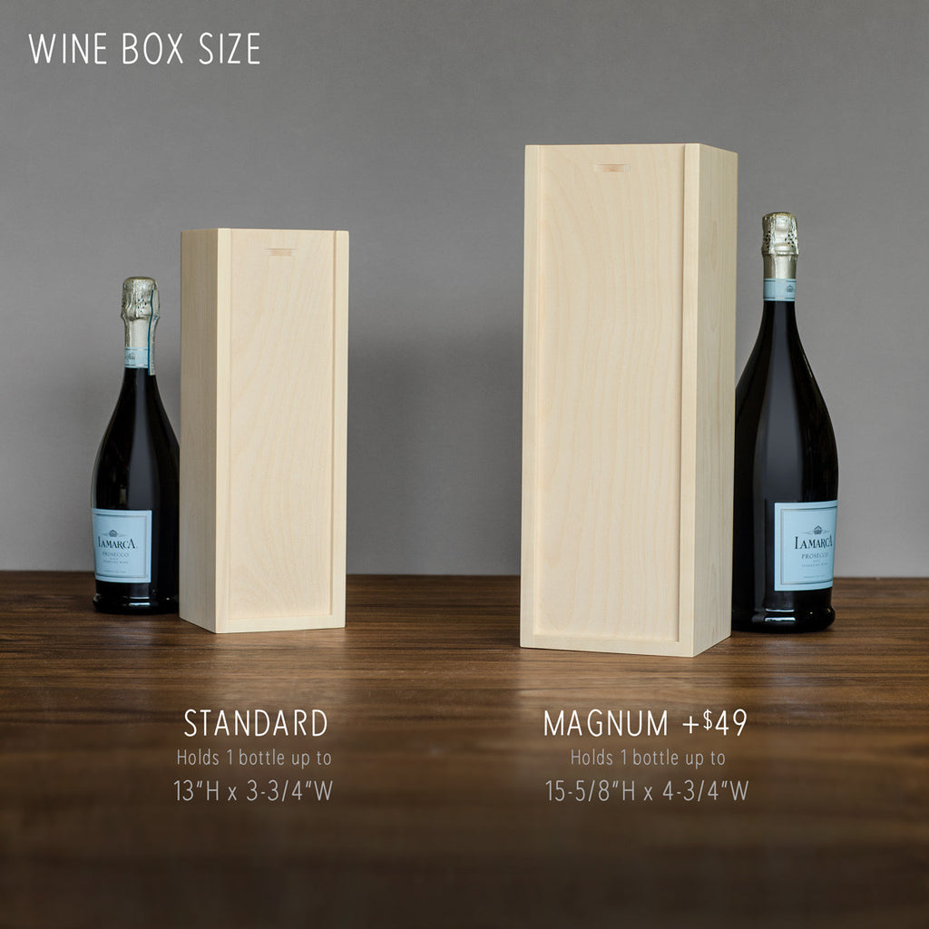 Wine Box - Gobble Gobble - Thanksgiving Wine Box
