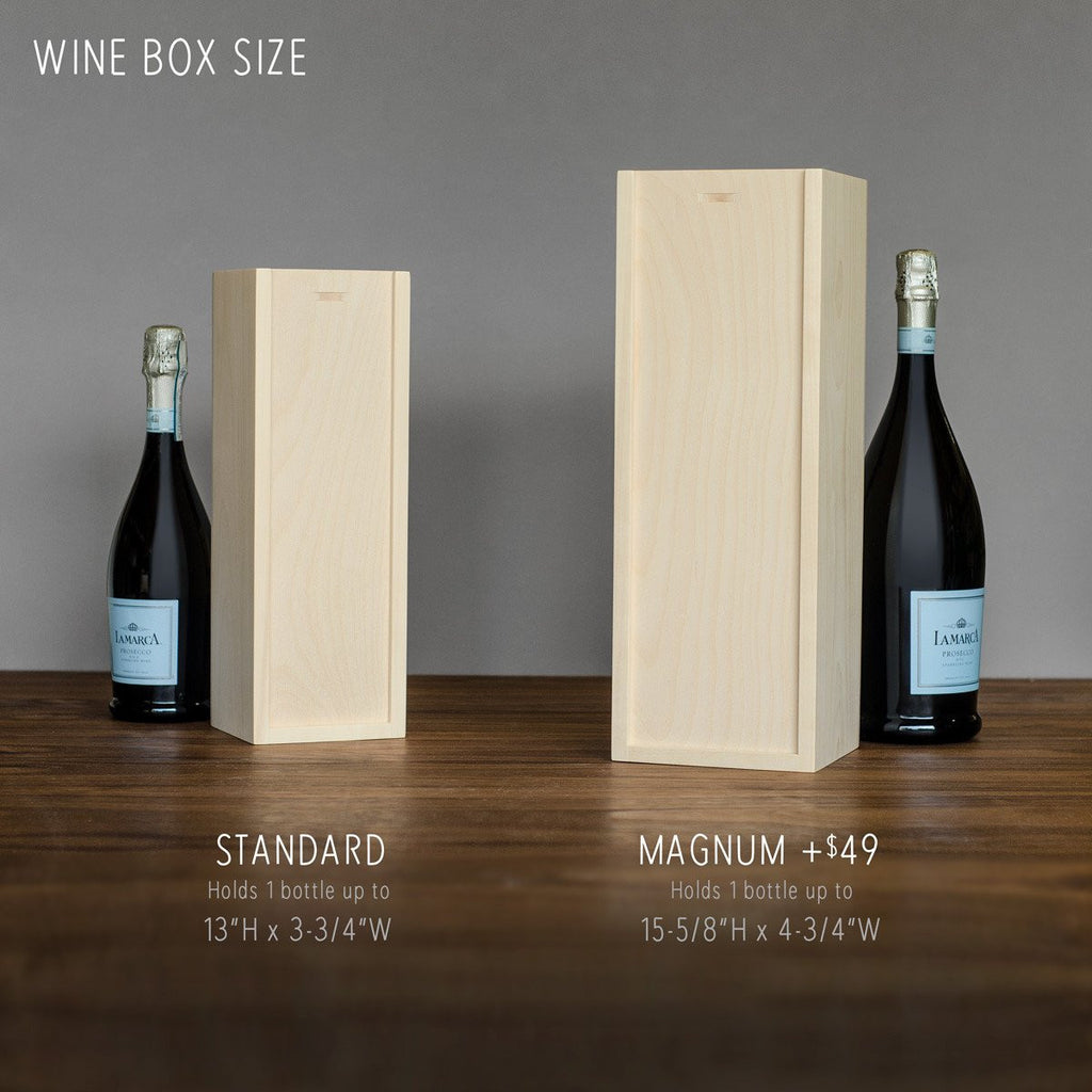 Wine Box - Pedal Together - Wedding Wine Box