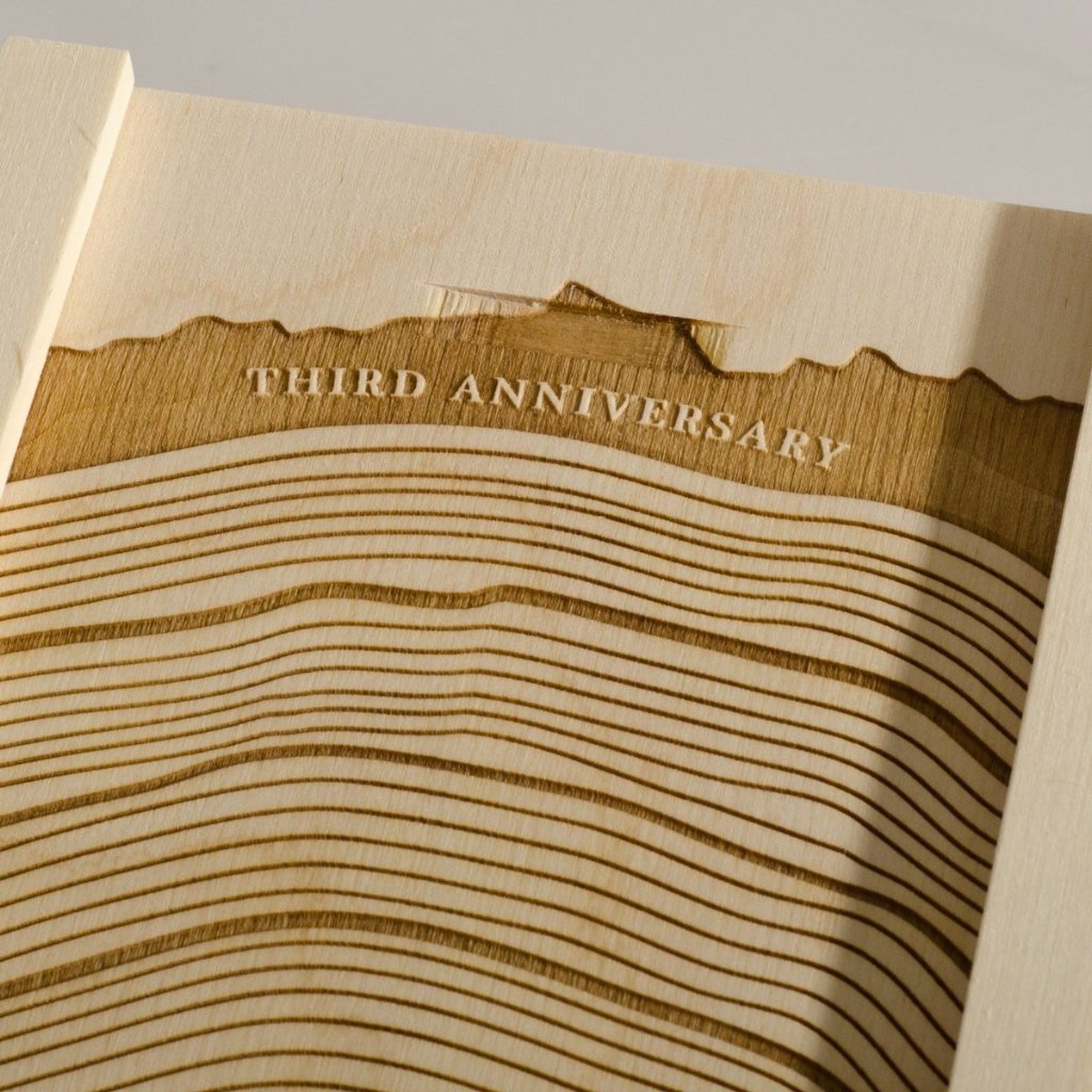 With These Rings Anniversary Wine Box - Detail Image 2