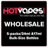 Wholesale 5-Packs/Bulk Bottles