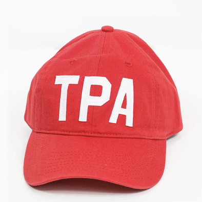 TPA - Tampa, FL Red Aviate Adjustable Baseball Hat