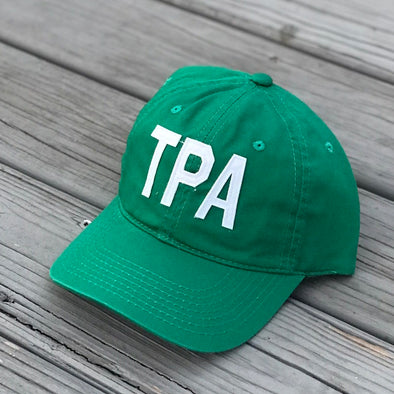 TPA - Tampa, FL Green Aviate Adjustable Baseball Hat