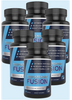 Image of 6 Pack of Testosterone Booster with Workout Guide by Fitness Fusion | Natural Test Nutritional Supplement for Increased Performance and Muscle Growth | Improved Stamina, Energy Levels & Sex Drive