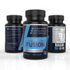 Image of Testosterone Booster with Workout Guide by Fitness Fusion | Natural Test Nutritional Supplement for Increased Performance and Muscle Growth | Improved Stamina, Energy Levels & Sex Drive