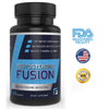 Testosterone Booster with Workout Guide by Fitness Fusion | Natural Test Nutritional Supplement for Increased Performance and Muscle Growth | Improved Stamina, Energy Levels & Sex Drive