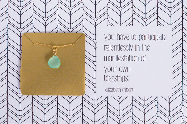 You have to participate relentlessly in the manifestation of your own blessings. - A50