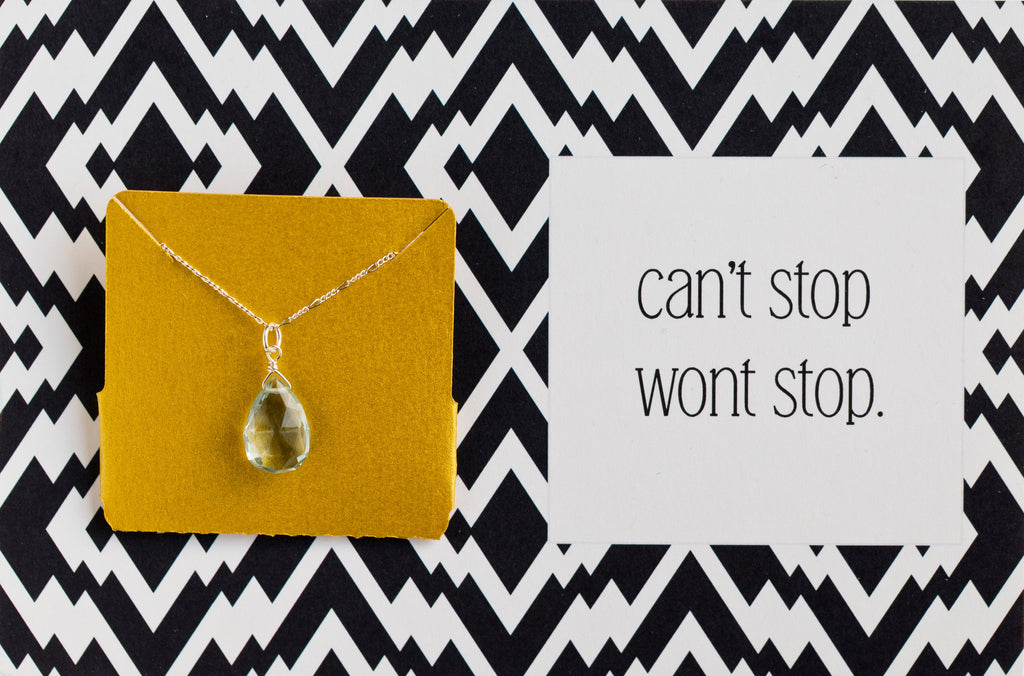 Can't Stop Won't Stop - Necklace A08