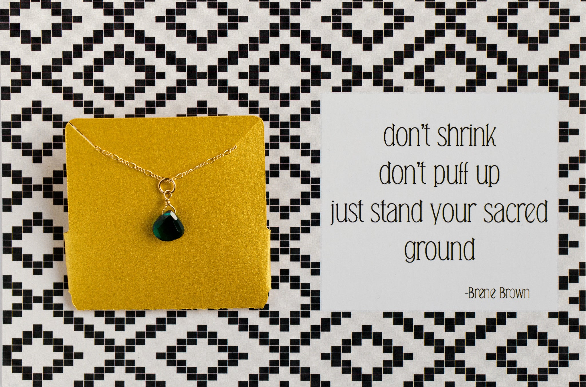 Stand Your Sacred Ground - Necklace A04