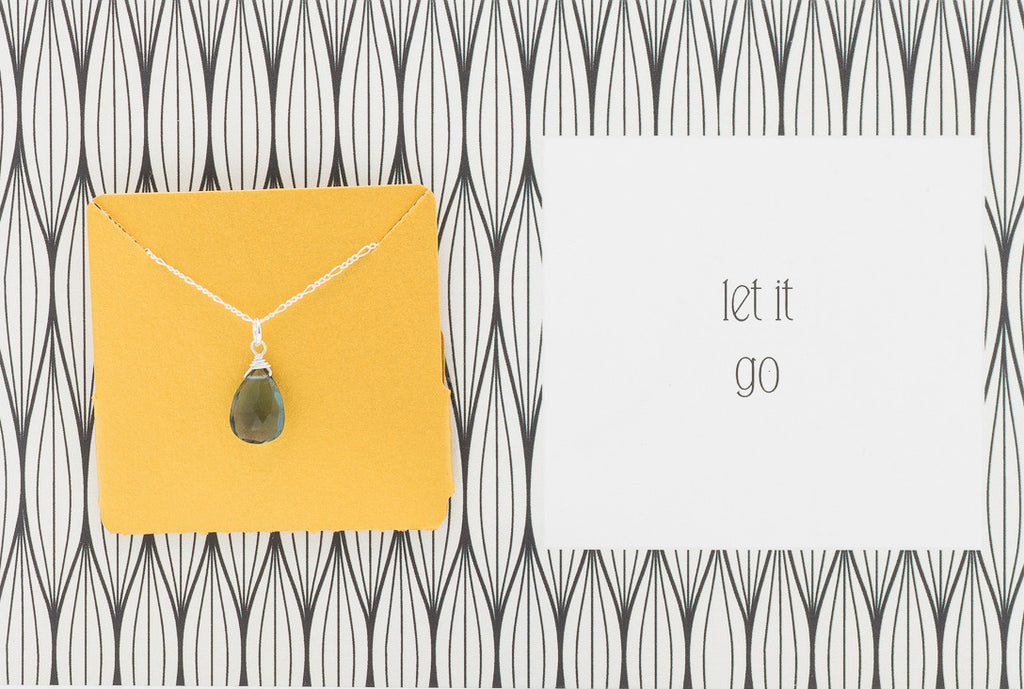 Let It Go  - Necklace A28