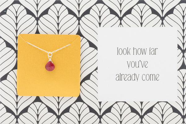 Look How Far You've Already Come - Necklace A39