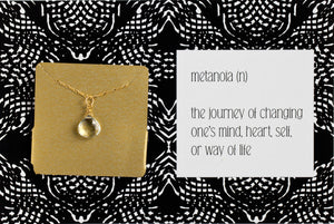 Metanoia - Necklace A25
