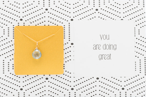 You Are Doing Great  - Necklace A34