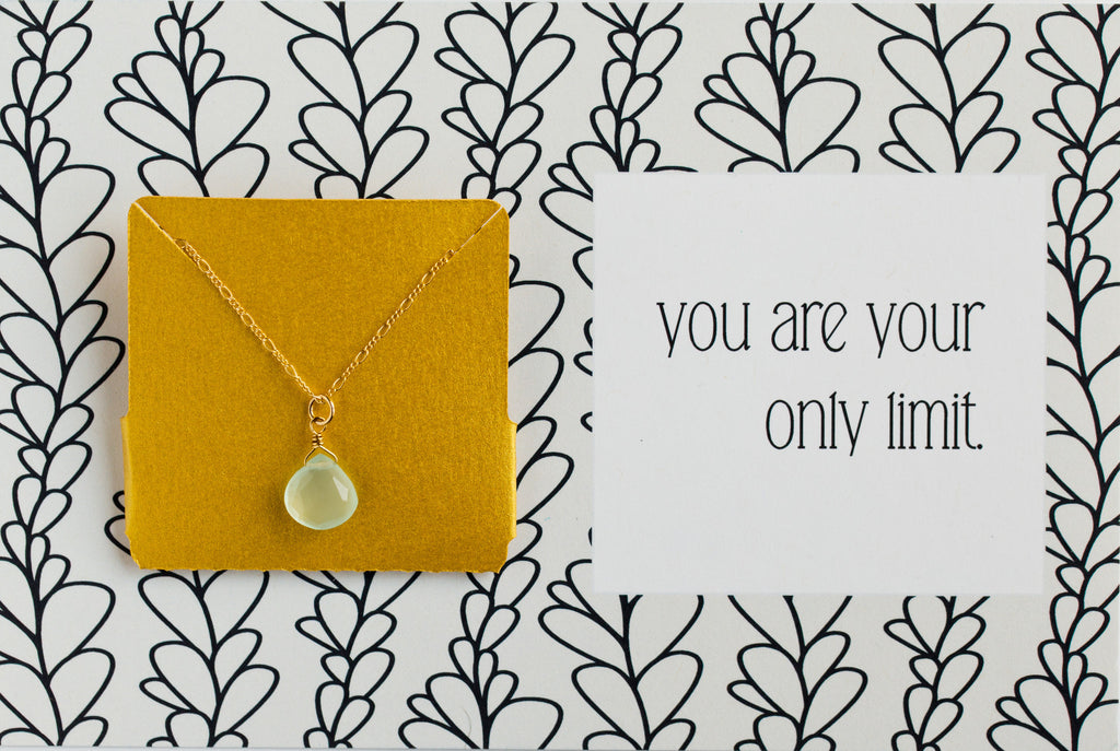 You Are Your Only Limit - Necklace A42
