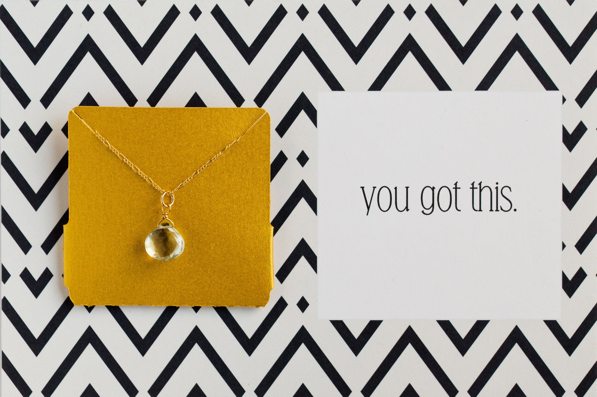You Got This - Necklace A45