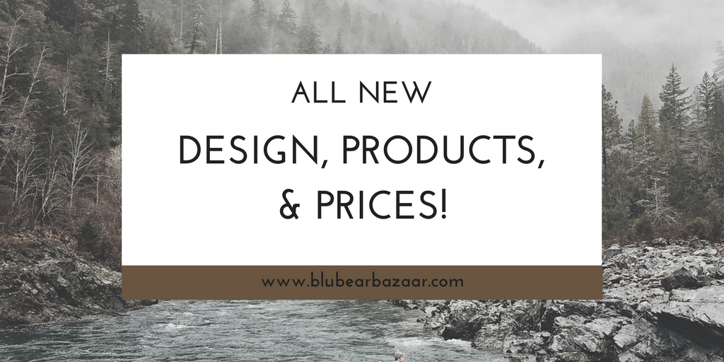 All new design, products, & prices!