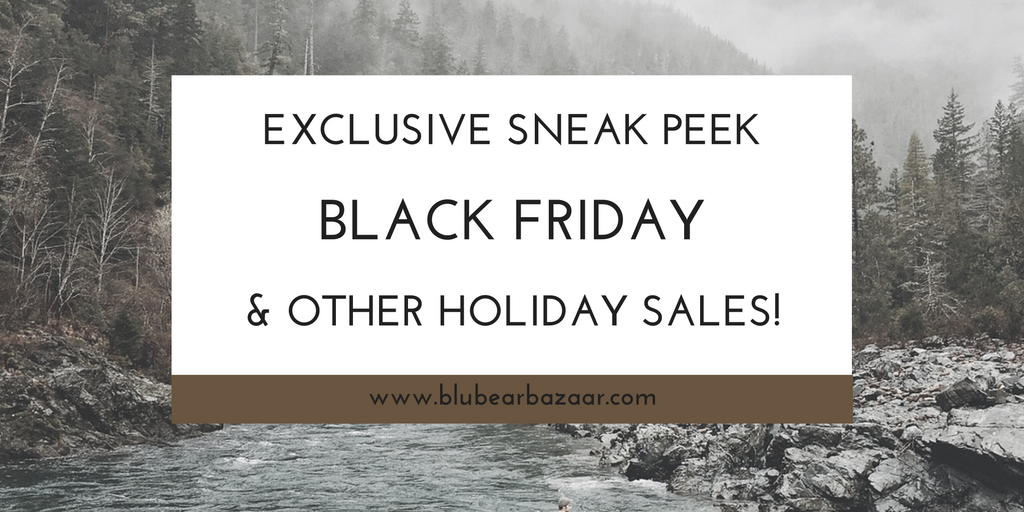 Black Friday & Cyber Monday Sale Sneak Peek!