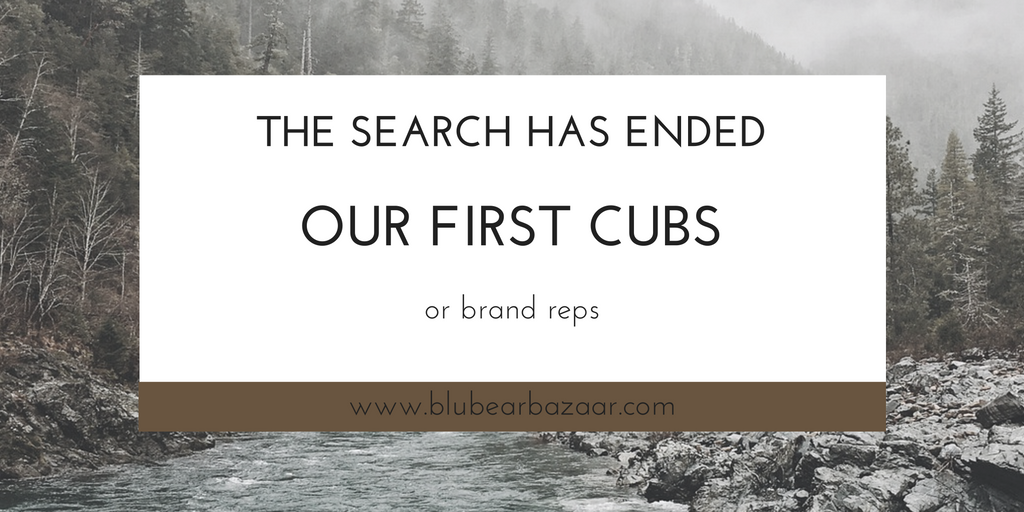 Our First Cubs! (brand reps)