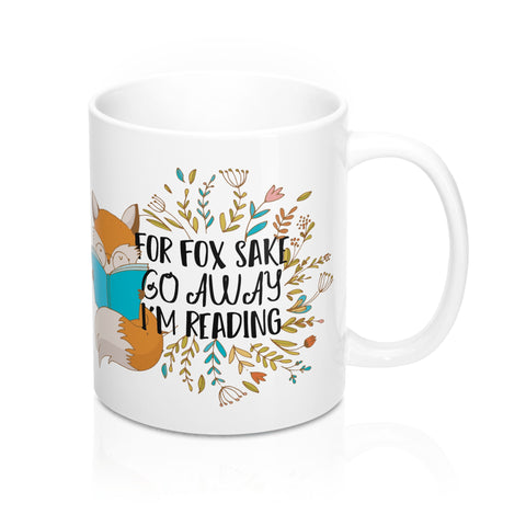 For Fox Sake Mug-Mug-Blu Bear Bazaar