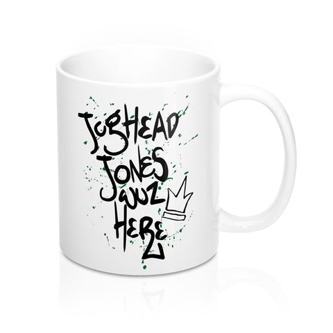 Jughead Jones Wuz Here Mug-Mug-Blu Bear Bazaar