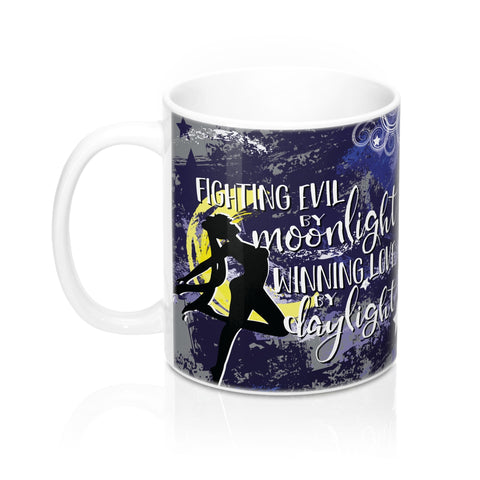 Fighting Evil Mug-Mug-Blu Bear Bazaar