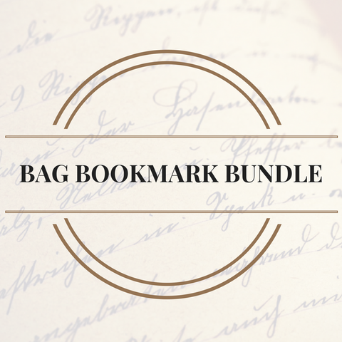 Blu's Bookish Bag Exclusive Bookmark Bundle-Blu's Bookish Bag-Blu Bear Bazaar