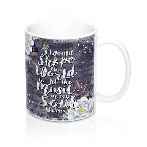 Music In My Soul Mug-Mug-Blu Bear Bazaar