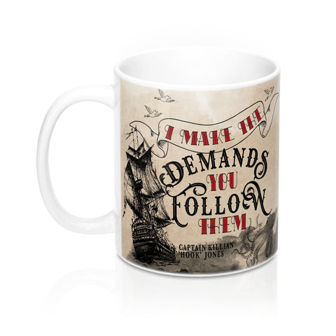 Captain Hook Makes The Demands Mug-Mug-Blu Bear Bazaar