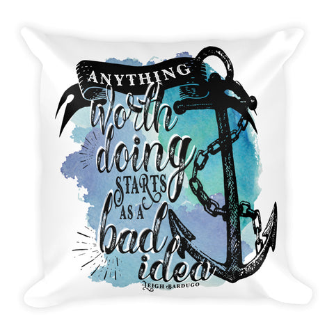 Bad Idea, Nikolai Lantsov Pillow-Pillow-Blu Bear Bazaar