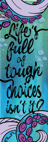 Tough Choices Bookmark-Bookmark-Blu Bear Bazaar