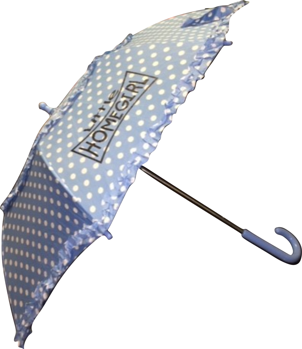 Childrens Dot Umbrellas Lil Homegirl