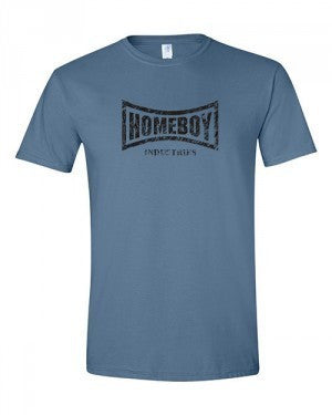 Soft Style Homeboy Tees Distorted Logo