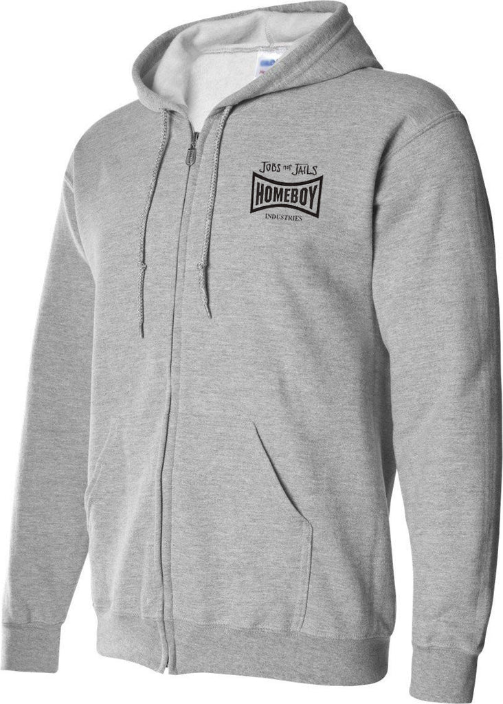 Homeboy Full-zip Hooded Sweatshirt Small to 3X to 5X