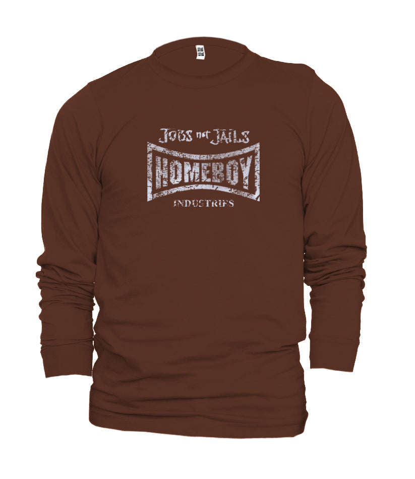 Homeboy American Apparel Long Sleeve Distorted logo