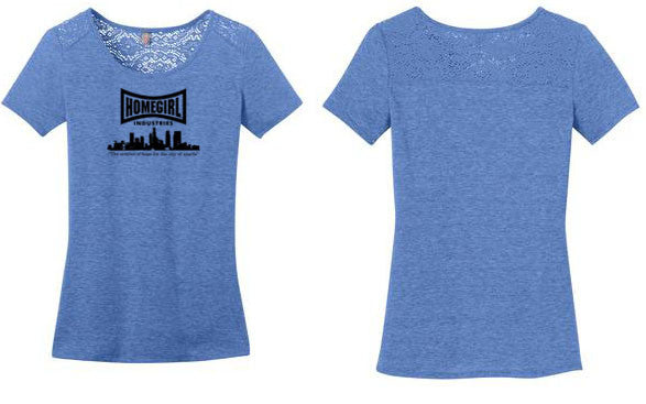 Ladies Lace Tee City logo