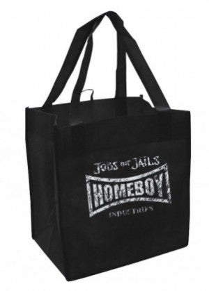 Homeboy Recycled Tote Bag Distorted logo