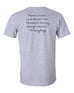 Father Greg quote tee shirt