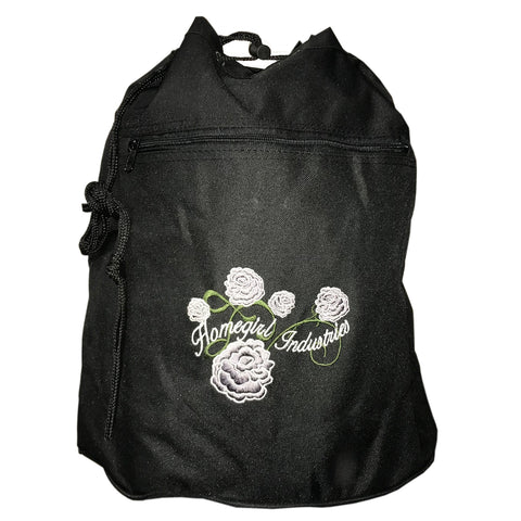 Drawstring backpack Flower Design