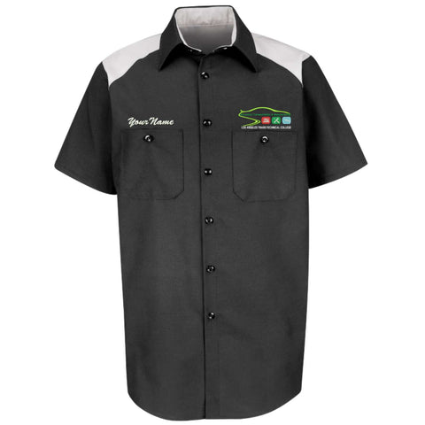 LATTC Automotive Shirt Short Sleeve with name embroidery