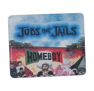 Jobs Not Jails Mouse Pad