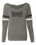 Alternative -Eco Grey/Eco Black/Eco Ivory Women's Maniac Sport Eco-Fleece Sweatshirt