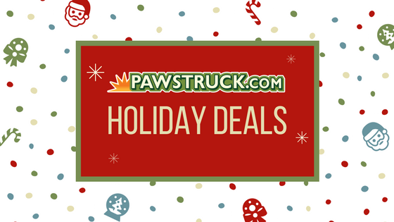 Holiday gifts for dogs and Pawstruck discounts