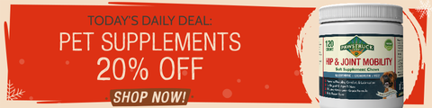 Today's Daily Deal: Supplements 20% off