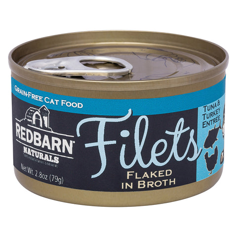 Redbarn Tuna & Turkey Canned Cat Food Filet (2.8 oz)