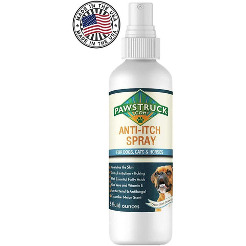 Pawstruck Anti-Itch Spray for Dogs + Cats